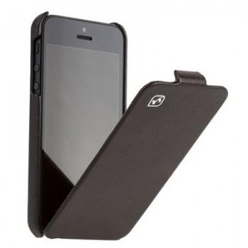 Чехол – книжка для iPhone 5s/5 от HOCO Duke Leather Case  (black)