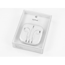 Наушники Apple EarPods с пультом и микрофоном MD827