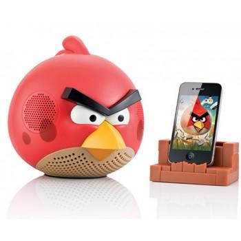 Акустическая колонка AngryBirds с FM приемником и USB