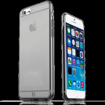 Тонкий прочный силиконовый чехол Hoco iPhone 6 (айфон) Black