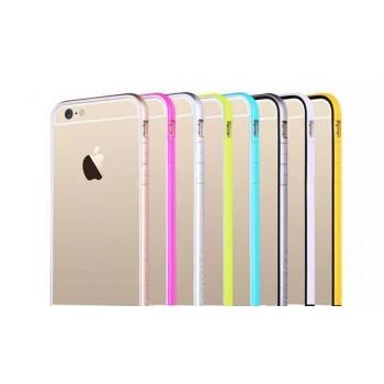 Тонкий прочный силиконовый чехол Hoco iPhone 6 (айфон) Color